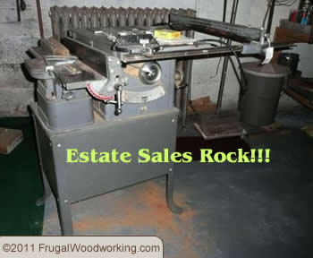estate sale woodworking tools
